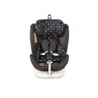Scaun auto LUSSO SPS Isofix, Black Crown