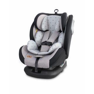 Scaun auto CORSICA Sistem Isofix, Grey Crowns