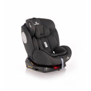 Scaun auto, Lyra, Isofix, rotativ 360 grade, 0-36 kg, Black