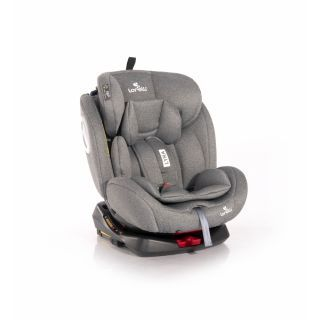 Scaun auto, Lyra, Isofix, rotativ 360 grade, 0-36 kg, Grey