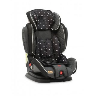 Scaun auto, Magic, 9-36 kg, extindere 3D, Black Crown