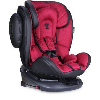 Scaun auto AVIATOR SPS Isofix, Black & Red