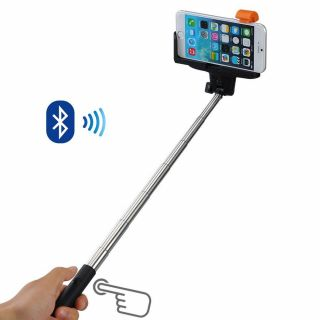 Selfie stick cu declansator prin Bluetooth - 1.17m, Radar