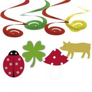 Serpentine decorative Good Luck pentru petrecere, Amscan