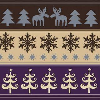 Servetele pentru masa de Craciun - 33 cm, Amscan 552026, Set 20 buc