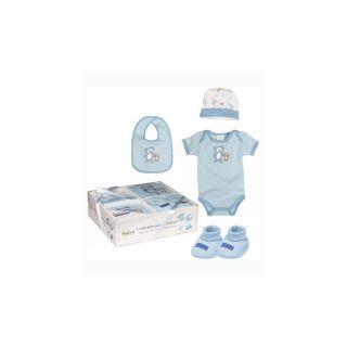 Set 4 piese bebelus Blue  A Haberkorn