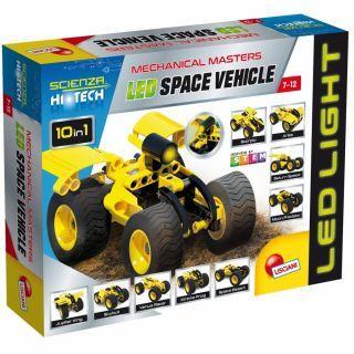Set STEM 10 in 1 - Masina spatiala cu LED