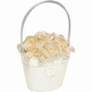 Suport cosulet cu flori pentru numar masa - 8.5 cm, Amscan