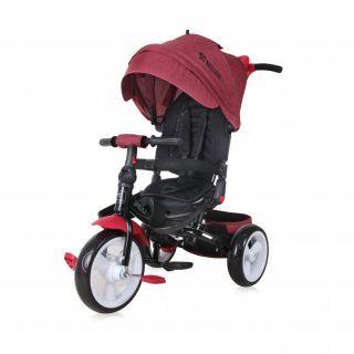 Tricicleta JAGUAR EVA Wheels, Red & Black Luxe