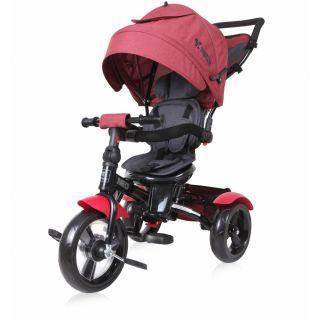 Tricicleta NEO EVA Wheels, Red & Black Luxe