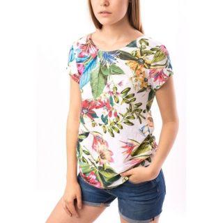 Tricou bumbac multicolor - jungle print, diverse marimi, Radar