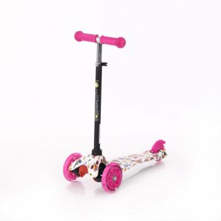 Trotineta pentru copii  Mini, Pink Butterfly