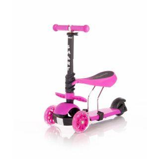 Trotineta pentru copii Smart, Culoare Roz