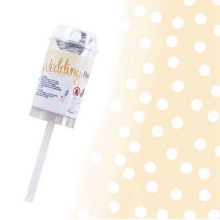 Tun de confeti pentru nunta - 5 x 26 cm, Radar 50137, 1 bucata