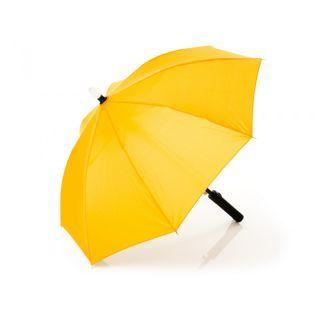 Umbrela pentru ploaie cu led , 80 cm. galbena Fillikid