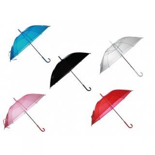 Umbrela transparenta de ploaie - D: ca. 83 cm, Radar 61/1885, diverse culori, 1 buc
