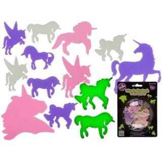 Unicorni decorativi fluorescenti - Radar , set 14 buc